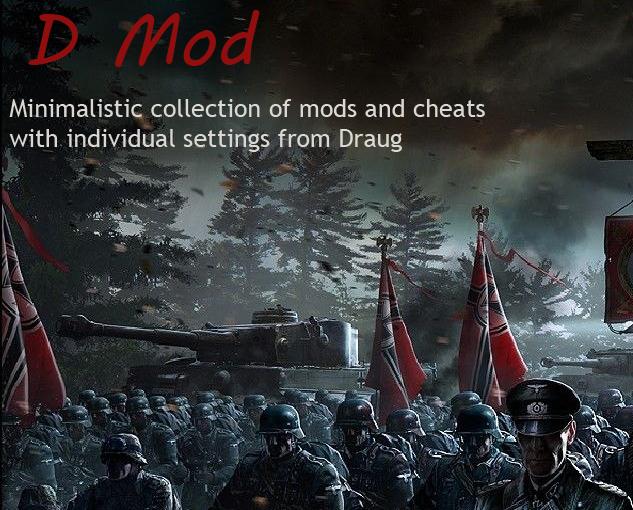 1.8.0.1 D Mod By Draug – Minimalistic Cheat Mod Pack